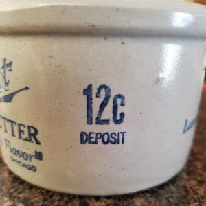 Other - Vintage Collectible Lambrecht Butter 1 lb Crock